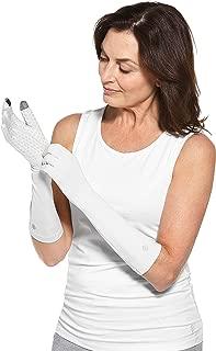 Coolibar UPF 50+ Unisex Bona UV Mid Length Gloves - Sun Protective