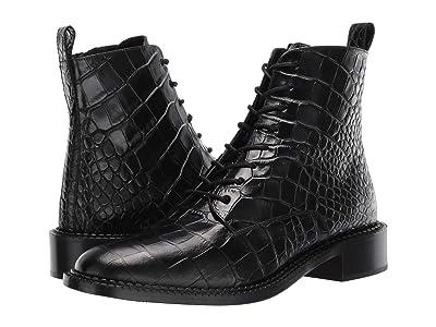 Vince Cabria (Black Croc Print Leather) Women