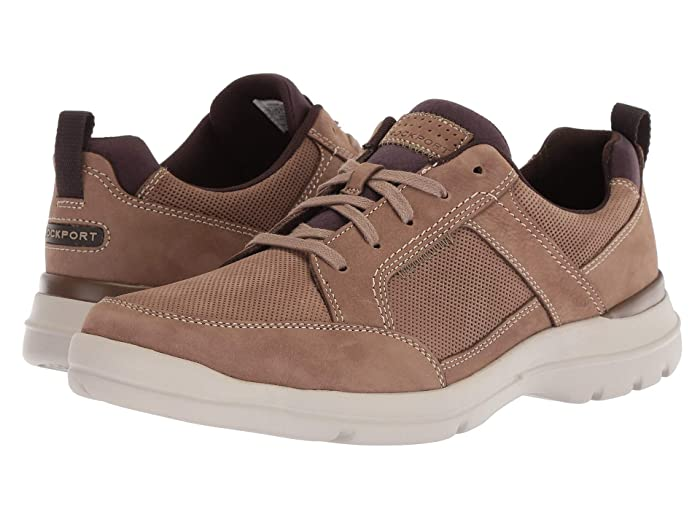 Rockport  City Edge Lace-Up (Taupe Nubuck) Mens Shoes