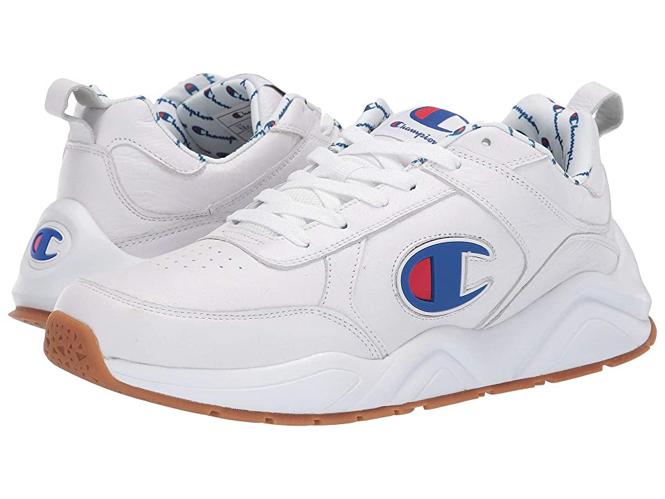 Champion 93Eighteen Big C (White Leather) Men