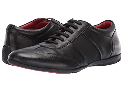 CARLOS by Carlos Santana Fleetwood Low-Cut (Black Calfskin Leather) Men
