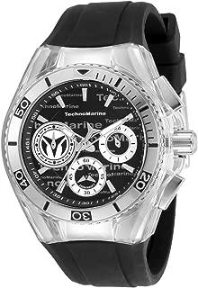Technomarine Cruise Women's 40mm Chronograph Steel Black Dial Watch