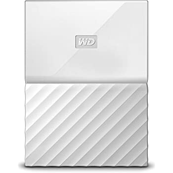WD ポータブルHDD 4TB USB3.0 ホワイト 暗号化 パスワード保護 3年保証 My Passport WDBYFT0040BWT-WESN
