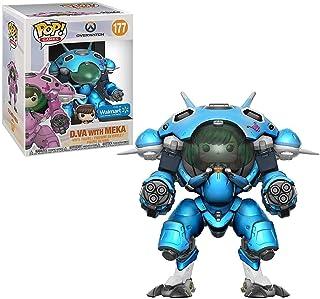 Funko POP Games Overwatch S3 Pop & Buddy - 6 D Va & Mech (Blue) EXCLUSIVE