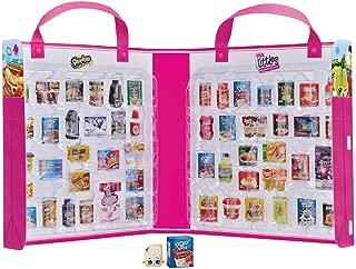 Shopkins HPKF9000 Real Littles Mini Packs Collector's Case, Nylon/A