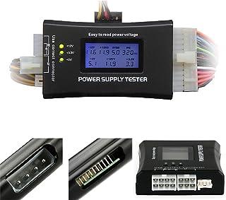 PURPLE 7  パソコン電源テスター PC電源用電圧チェッカー PCI-EXPRESS / S-ATA 対応 Power Supply Tester Ⅳ