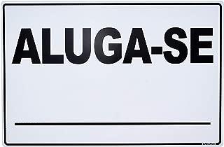 Placa De Sinalizacao Aluga-Se 20x30cm. - Pacote com 5, Grespan, SIN115, Multicolorido