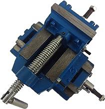 Euronovità EN-220773 - Mordaza para taladro de columna o normal, versión robusta, azul, 75 mm