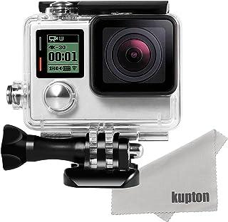 (カップテン)Kupton 防水ハウジングケース GoPro HERO4 /HERO3+対応 GoPro防水ハウジングケース 水中撮影 ウェアラブルカメラ用ケース ゴープロ ヒーロー GoPro HERO4 HERO3+対応アクセサリー