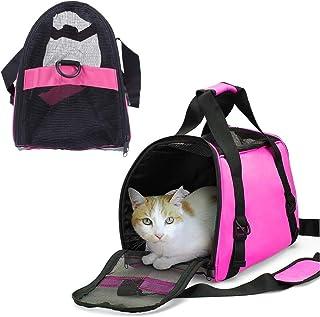 Mumoo Bear Dog Cat Pet Carrier Portable Travel Bag - Pink