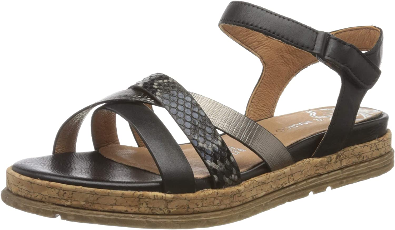 Marco Tozzi Women's Ankle New color Sandals Strap Jacksonville Mall
