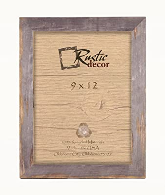 c0f8964eb98 Amazon.com - 8x10 Picture Frames -Signature Barnwood Reclaimed Wood ...