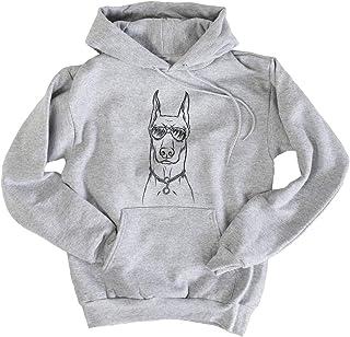 Best Aviator Ace The Doberman Pinscher Hooded Pullover Sweatshirt Review