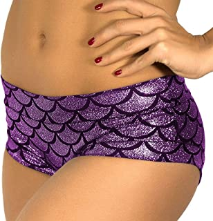 Mermaid Shorts Women's Fish Scale Shorts