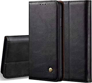 """LBYZCASE Case for Coolpad Legacy,Folding Flip Wallet Leather Shockproof Protective Phone Cover with Card Slots Kickstand and Magnetic Closure for Coolpad Legacy (2019) 6.36"""" 3705A (Black)"""
