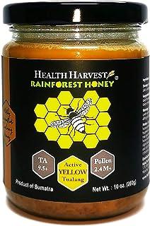 Tualang Yellow Honey 280g | Total Activity 9.5+ | Pollen Count 2.4M+ | Pollen Varieties 100+ | Mild Choice for Child Healt...