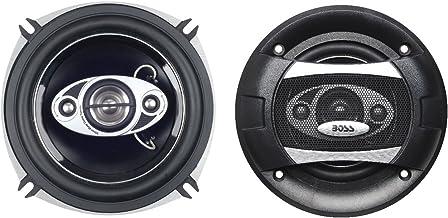 $23 » BOSS Audio Systems P55.4C 300 Watt Per Pair, 5.25 Inch, Full Range, 4 Way Car Speakers Sold in Pairs (Renewed)