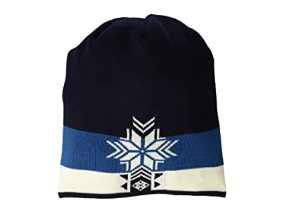 Dale of Norway Geilolia Hat (Navy/Arctic Blue/Off-White) Beanies