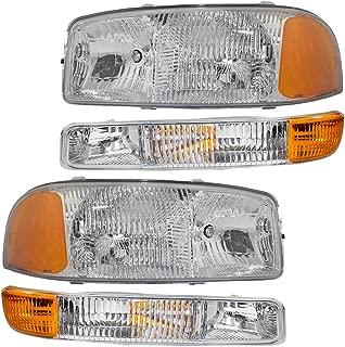 Best 2005 gmc sierra 1500 headlights Reviews