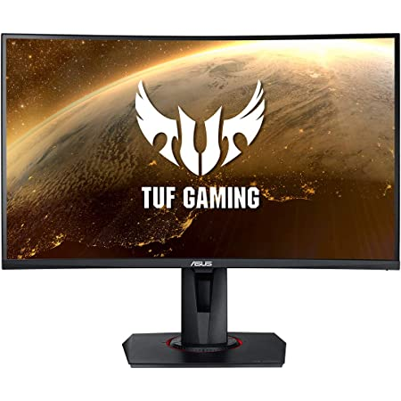 "Asus TUF Gaming VG27WQ - Monitor Curvo gaming de 27"" WQHD (2560x1440, 165 Hz, ELMB SYNC, Adaptive-Sync, Freesync Premium, 1 ms MPRT, DisplayHDR 400) Negro"