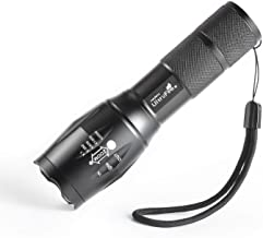 UltraFire Tactical Flashlight with 5 Modes & Zoom Function Ultra Bright Torch