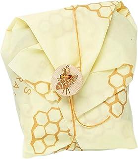 Bee's Wrap Sandwich Wrap, Eco Friendly Reusable Beeswax Food Wrap, Sustainable, Zero Waste, Plastic Free Alternative for W...