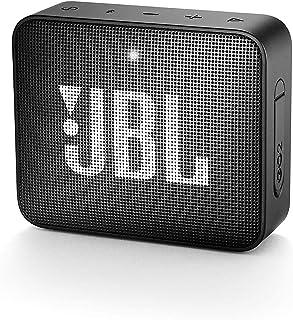JBL GO 2 Speaker Bluetooth Portatile, Cassa Altoparlante Bluetooth Waterproof IPX7, con Microfono, Funzione di Noise Cance...