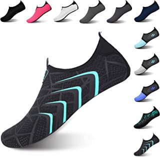 Severkill Womens Water Shoes Quick Dry Barefoot for Swim Diving Surf Aqua Sports Pool Beach Walking Running