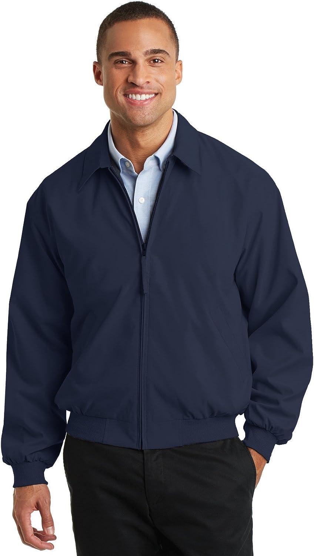 Port Authority Men's Casual Microfiber Jacket