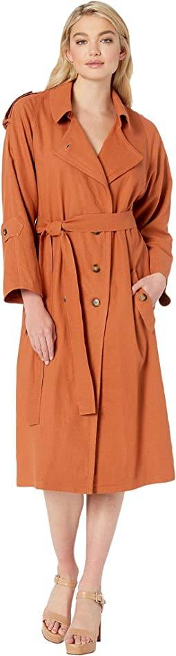 Basic Instinct Trench Coat Dress