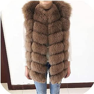 Surprise S Artificial Vest Jacket Waistcoat Short Sleeveless Vestwoman Winter Warm