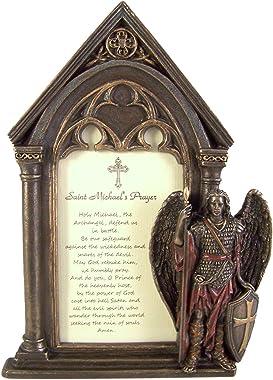 Marco de fotos de oración de San Miguel, 19,7 cm