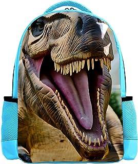 Crocodile Portrait Backpack Kids School Book Bags for Elementary Primary Schooler