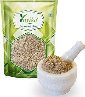 YUVIKA Khus Root Powder - Vetiveria Zizanioides - Vetiver Root Powder (100 Grams)