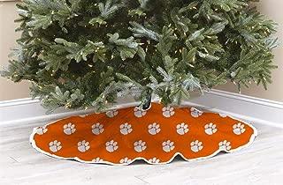 Pegasus Clemson University Tigers Tree Skirt Christmas Tree Skirt