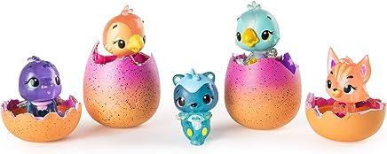 Hatchimals CollEGGtibles - 4-Pack + Bonus, Season 4 Hatchimals CollEGGtible, for Ages 5 and Up (Styles and Colors May Vary)