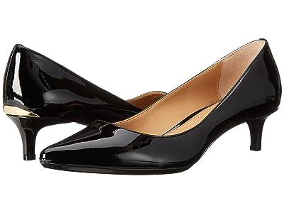 Calvin Klein Gabrianna Pump (Black Patent) Women