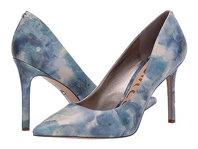 Sam Edelman Hazel (Blue Multi Shibori Print Leather) Women