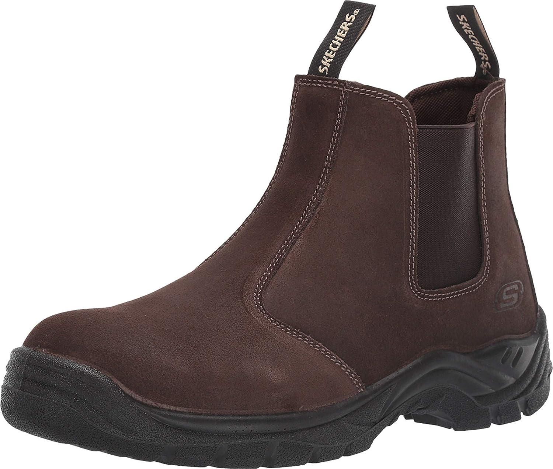 Skechers Men's Chelsea Shoe Outlet SALE Dealing full price reduction Construction Boot