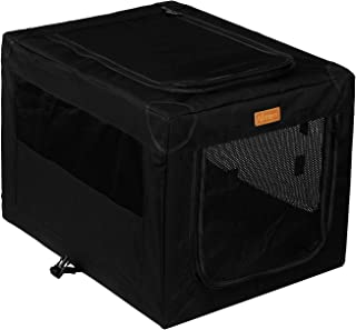 Akinerri Folding Soft Dog Pet Crate Kennel,Soft Collapsible Dog Crate and Kennel with Leak Proof Bottom for Indoor or Trav...