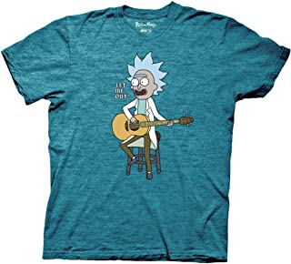 Rick and Morty Let Me Out Tiny Rick Adult T-Shirt