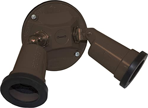 Sigma Electric, Bronze 14782BR Round Cover and Two Lamp Holder Kit