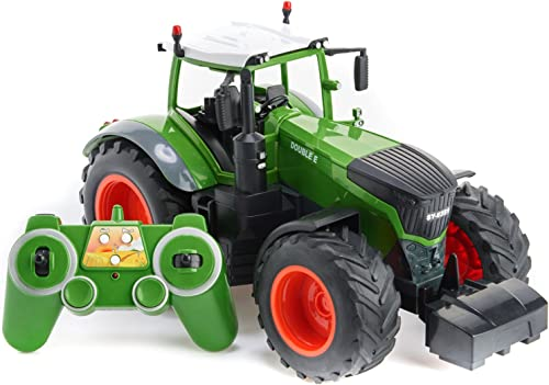 2021 Cheerwing popular 2.4Ghz 1:16 RC Farm outlet online sale Tractor Remote Control Monster Car RC Construction Toy online sale