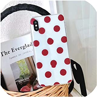 Love Heart For Iphone 6 6S 7 8 Plus X Xr Xs Max 11 Pro Max 5 5S Se電話ケースWave Point Clear Soft Tpu for Iphone X For Iphone 11 Ac0651