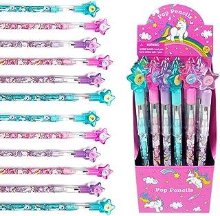 24 Pcs Unicorn Multi Point Pencils