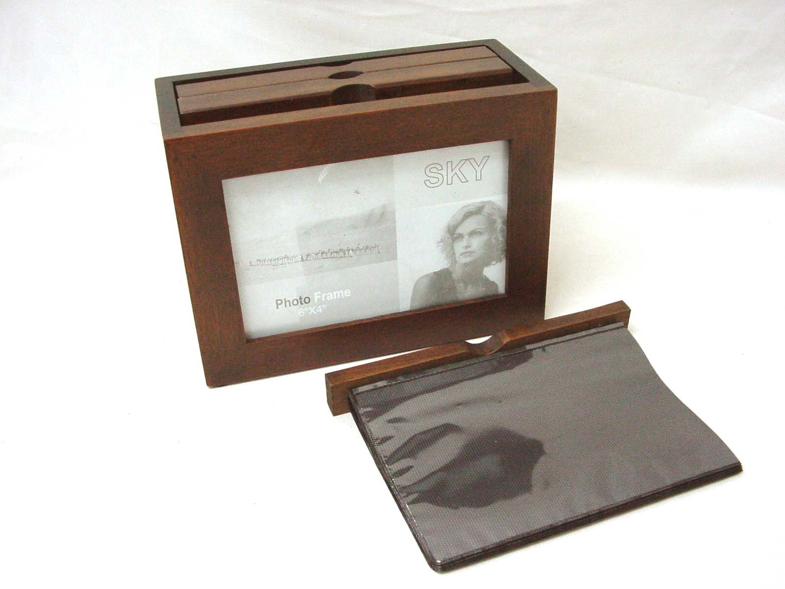 Desconocido Album Caja Marco Fotos PORTAFOTOS SIN Tapa PEQUEÑO para Fotos 10x15 CM: Amazon.es: Hogar