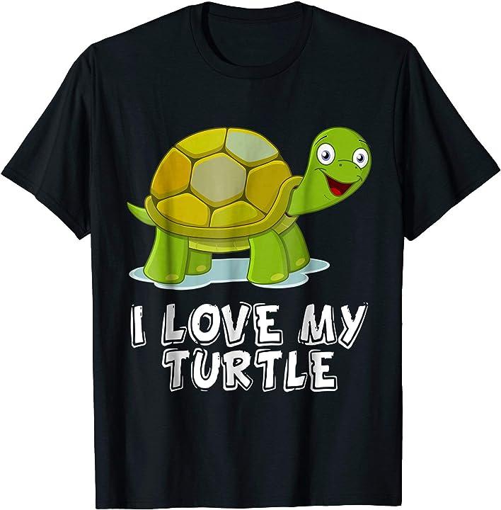 I Love My Turtle T shirt