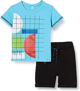 Completo T-Shirt E PANTALONICINI Jersey RASATE Bambino Arancione Wild Side