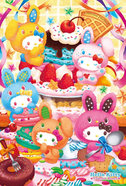 promociones Hello Kitty 1000 piece Colorful parfait 31-390 (japan import) import) import)  ahorra 50% -75% de descuento