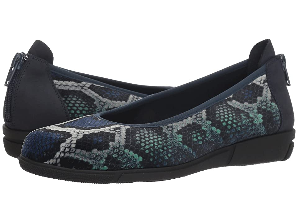 Sesto Meucci Dinnie (Multi Blue Dakota Velvet) Women